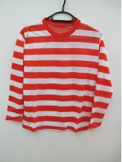 Red White Striped Shirt - Children Book Week Costumes
