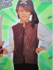 Deluxe Pirate Shirt - Children Costumes