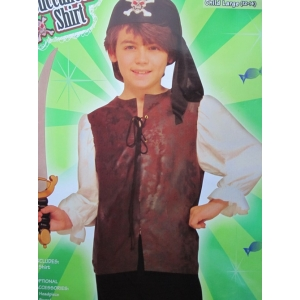 Deluxe Pirate Shirt - Children Costumes
