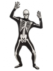 Skeleton Morphsuit - Halloween Children Costumes