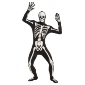 Skeleton Morphsuit - Halloween Children Costumes
