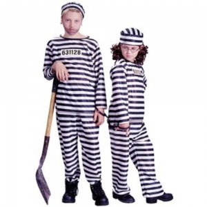 Kids Convict - Halloween Children's Costumes