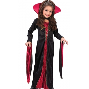 Girl Vampire - Halloween Children Costumes