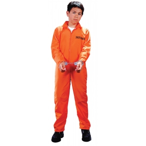 Got Busted Prisoner - Childrens Halloween Costumes