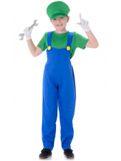 Plumber Boy Green - Children Book Week Costumes