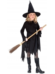 Black Witch - Halloween Children Costumes