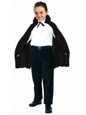 Children Black Cape - Children Costumes