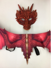 Red Dragon Set - Children Costumes