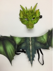 Green Dragon Set - Children Costumes