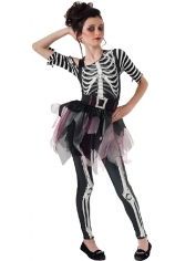 Skeleton Ballerina - Halloween Children Costumes