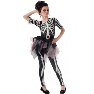 Skeleton Ballerina - Halloween Children Costumes