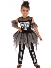 Little Skeleton Ballerina - Children Costumes