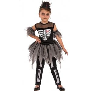 Little Skeleton Ballerina - Children Costumes