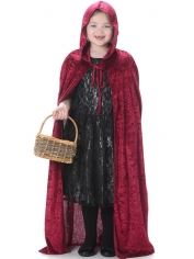Red Hooded Cape - Children Costumes
