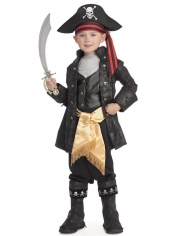 Pirate Black Captain - Children Book Week Costumes