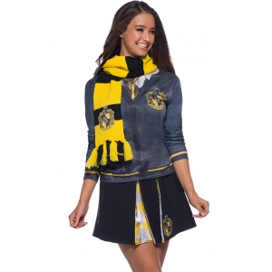 Hufflepuff Deluxe Scarf - Harry Potter Costumes