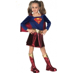 Supergirl Deluxe - Children DC Costumes