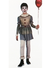 Creepy Boy Clown - Halloween Children's Costumes