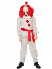 Horror Clown - Halloween Children's Costumes