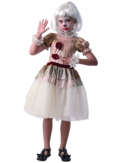 Creepy Clown Girl - Halloween Children Costumes