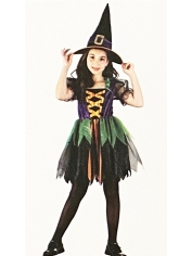 Rainbow Witch - Halloween Children's Costumes
