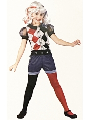 Pretty Clown - Halloween Children's Costumes