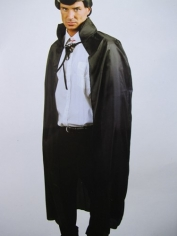 Long Black Cape - Costume Accessories
