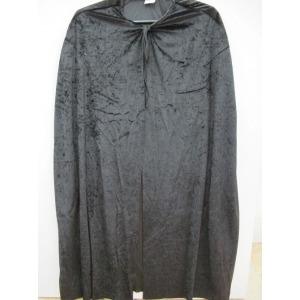 Black Superhero Cape - Halloween Mens Costumes
