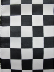 Large Black and White Checkered Flag