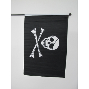 Small Skull Crossbones Flag