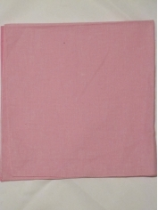 Plain Light Pink Bandana