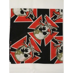 Red Cross With Skull Bandana