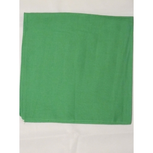 Plain Green Bandana
