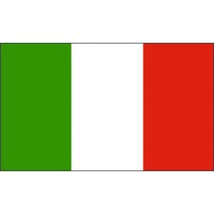 Italian 5ft x 3ft Polyester Flag - Country Flags