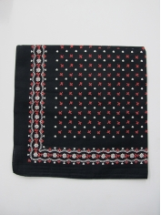 Black with Patterns Bandana