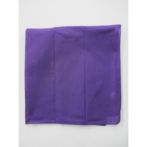 Plain Purple Bandana