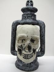 Lite-Up Skull Lantern