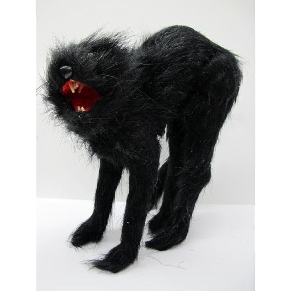 Scary Black Cat Halloween Decoration