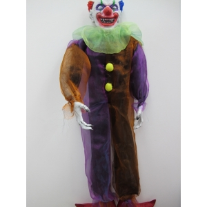 Hanging Devil Clown - Halloween Decorations