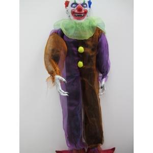 Hanging Devil Clown - Halloween Decorations