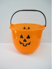 Halloween Pumpkin Bucket - Halloween Decorations