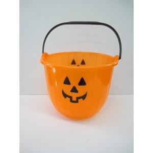 Halloween Pumpkin Bucket - Halloween Decorations