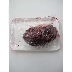 Severed Heart In Snack Tray - Halloween Decorations