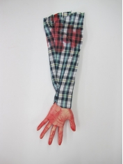 Blue White Severed Arm - Halloween Decorations