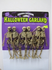 Skeleton Garland - Hallloween Decorations
