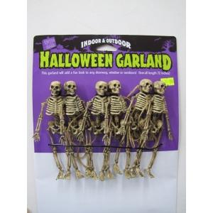 Skeleton Garland - Hallloween Decorations