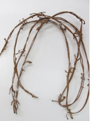 Rusty Barbed Wire - Costume Decorations