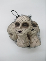 Bag of Women Skulls - Halloween Decorations