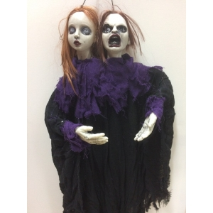 Double Head Ghost - Halloween Decorations