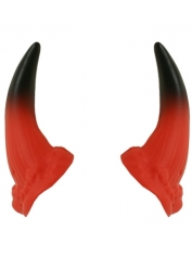 Devil Horns on Elastic - Costume Decorations